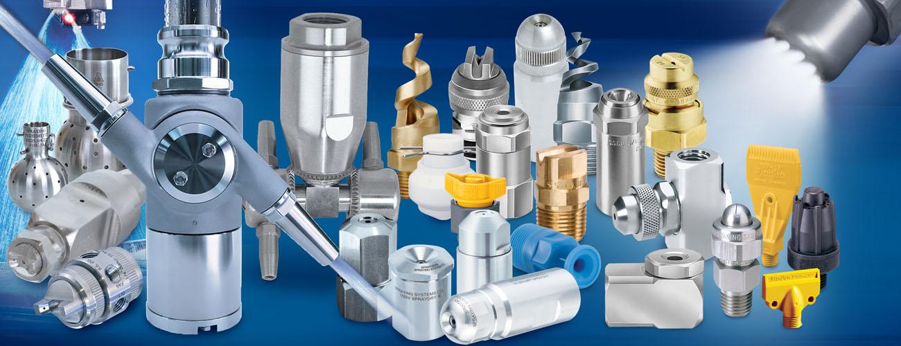 Spiral Full Cone Spray Nozzles manufacturer | Spiral Spray